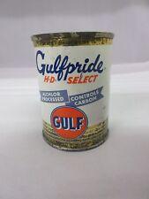 VINTAGE GULFPRIDE GULF  GAS OIL  PROMO BANK   TIN ADVERTISING COLLECTIBLE M-917