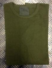 Camicie casual e maglie da uomo verde con girocollo