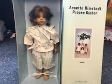Annette Himstedt Doll Enzo 26in with Karton. Top Condition