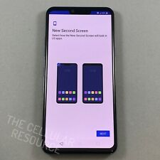 New Other Lg G8 ThinQ 128Gb Aurora Black Gsm At&T Cricket Android 4G Lte