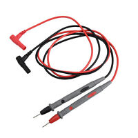 Digital Multimeter Multi Meter Test Lead Probe Wire Pen Cable 10A Universal NEW