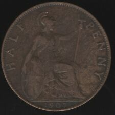 More details for 1907 edward vii halfpenny coin   british coins   pennies2pounds