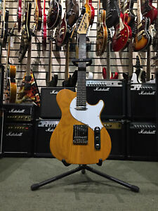 CORT TC MANSON STAGE SERIES ELECTRIC GUITAR, BLONDE WITH ROLLER TRUSS ROD, NEW