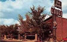 Billings Montana Dude Rancher Lodge Duncan Hines Vintage Postcard J73936