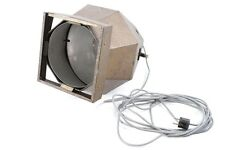 Grandes Antiguo Proyector Bauhaus Art Decó Lámpara de Diseño Reflector Trípode