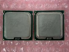 Matching Pair Intel Xeon E5310 SL9XR 1.60GHz Quad Core Socket 771 CPU Processor