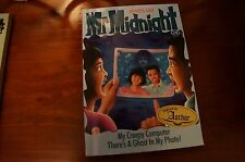 MR MIDNIGHT My Creepy Computer / There's A Ghost in My Photo  Paperback EUC