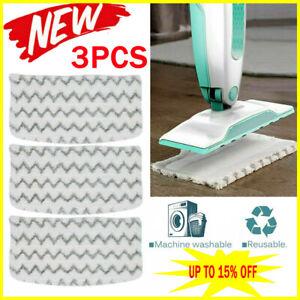 3pcs Replacement Shark Pads Steam S1000 S1000A S1000C Klik n Flip Pocket Mop
