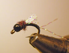 UV2 Cheeseman Emerger-Black #20-Fly Fishing Flies-Trout-Wet