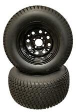 Set (2) 23X10.50-12 Scag Turf Tiger Replacement Wheels And Tires Wheel Tire Set