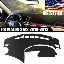 USA Dashboard Cover Dashmat Dash Sun Mat Carpet Board Pad For Mazda 3 2010-2013