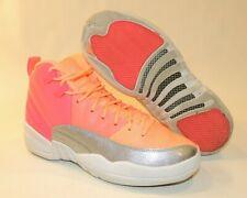 Girls Nike Air Jordan Shoes Sneakers Basketball 5Y GS Youth 12 Retro Racer Pink