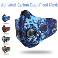 New Activated Carbon Anti-dust Cycling Half Face Mask Outdoor Sports With Filter