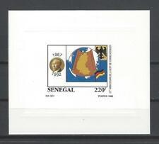 Senegal 1992 Sc#1027 Type   Konrad Adenauer  MNH Deluxe Sheet