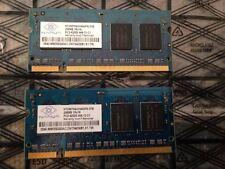 Nanya Sodium Memory Qty 2 PCS 256MB DDR2 PC2-4200 CL4 533MHz NT256T64UH4A0FN-37B