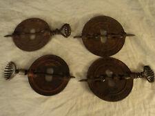 """antique stove spindle flue damper cover: Griswold (6"""", 5.5""""), 5"""" Weaver , Royal"""