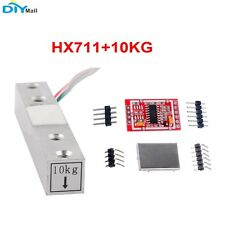 10KG Scale Load Cell Weight Weighing Sensor+ HX711 24bit AD Module Metal Shied