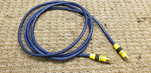 Tributaries 6' subwoofer cable or video cable, (1) RCA plug at each end
