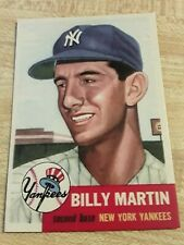 1953 YANKEES   BILLY MARTIN  REPRINT Topps #86