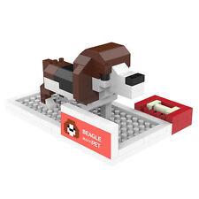 Beagle - ANSBRICK BLOCK PET.5. Building, Learning - Nanoblock compatible