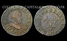 Double Tournois 1626 A (Paris) Louis XIII° Le Juste. 3°Type. Cuivre