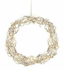 Moderne LED Couronne décorative décor de fenêtre métal avec 32 35 cm 70383