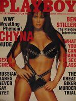 Playboy November 2000 Factory Sealed | Chyna WWF Buffy Tyler   #DK8964