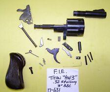 FIE TITAN TIGER HW3 IN 32 SW CALIBER GUN PARTS LOT ALL 4 ONE PRICE ITEM # 17-631