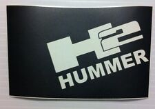 HUMMER H2 Blackout Vinyl Hood Decal  Fits above Hood Grill