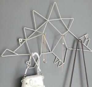 Childrens Stegosaurus Dinosaur Jewelry Accessory Hanger Wall Hanging