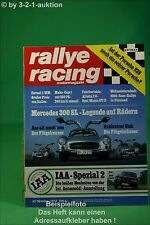 Rallye Racing 10/77 300 SL Saab Turbo Mako Capri V8 + Poster