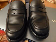GENUINE TOD'S BLACK LEATHER SLIP ON SHOES DIMPLED SOLES SIZE 40 7
