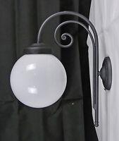 APPLIQUE LAMPADA PER ESTERNO LED O BASSO CONSUMO RUSTICO FATTO A MANO ART.E1