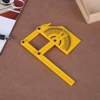 New Flexible Multi-Angle Ruler Calibration Protractor Finder 180° Measuring Tool