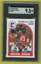 1989-90 NBA Hoops Michael Jordan #21Graded Card SGC 9.5 mint + Bulls