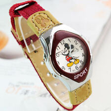 Mickey Fabric Strap Cartoon Watches For Girls or  Boys