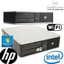 Cheap HP DC7900 Desktop SFF Windows 10 P PC Fast Intel C2D 3.0GHz 4GB 320GB WiFi