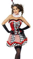 Fever Deluxe Clown Cutie Adult Costume Size Medium