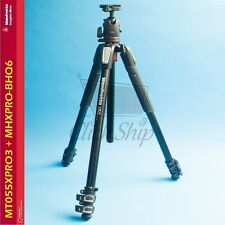Manfrotto MT055XPRO3 Aluminum Tripod with MHXPRO-BHQ6 XPRO Ball Head