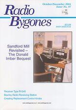 Radio Bygones No 97 Oct/Nov 2005 R1545 Bearly Radio Rx Stn Sandford Mill Reviste