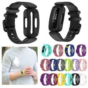 Silicone Wristwatch Band Strap Adjustable for Fitbit Ace3/Fitbit Inspire2 Watch
