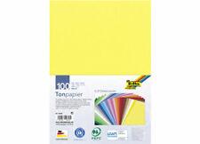 100 Bogen DIN A4 anthrazit folia 6488 Tonpapier 130g//m²