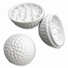 Tritatabacco tritaspezie palla golf ball herb grinder 2 parti parts plastica