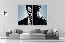 JOKER COMICS BATMAN Art Poster Grand format A0 Large Print