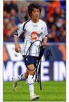 LEE CHUNG-YONG *KOREA / BOLTON* Footballer 7x5 Signed Autograph Photo