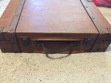 Wood Storage Vintage Trunk Suitcase