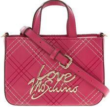 LOVE MOSCHINO MINI GRAB BAG - BRIGHT PINK - RRP £113.00 BRAND NEW