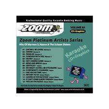 Zoom Karaoke ZPA069 Platinum Artists Maroon 5, Keane & les Ciseaux Soeurs