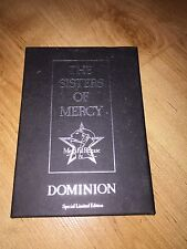 SISTERS OF MERCY - DOMINION - LTD CASSETTE SINGLE BOX SET