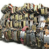 New 30pcs Mix Styles Mens Womens Fashion Metal Leather Cuff Bracelets Jewelry